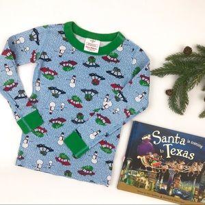 Hanna Andersson Christmas Pajama Top